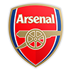 Escudo del club de fútbol Arsenal